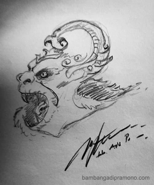Hanoman sketch