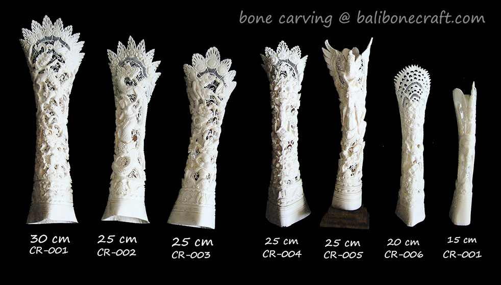 Bali bone craft specialize in carving