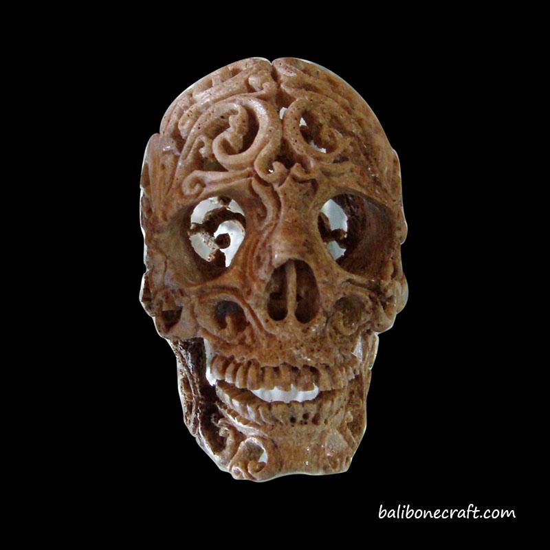 skull-carving